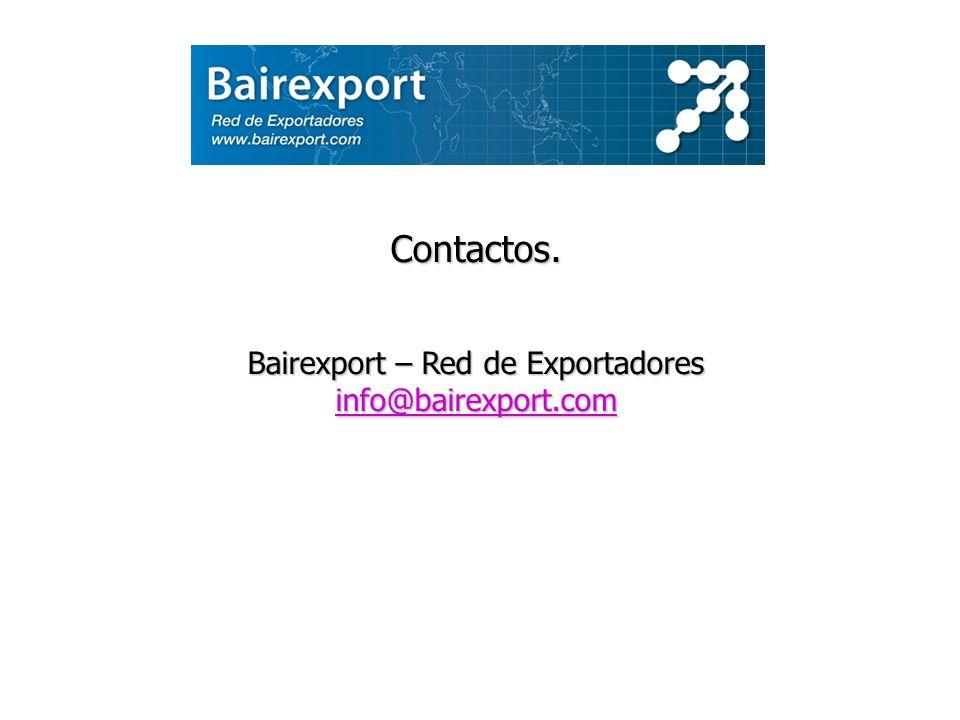 Bairexport – Red de Exportadores