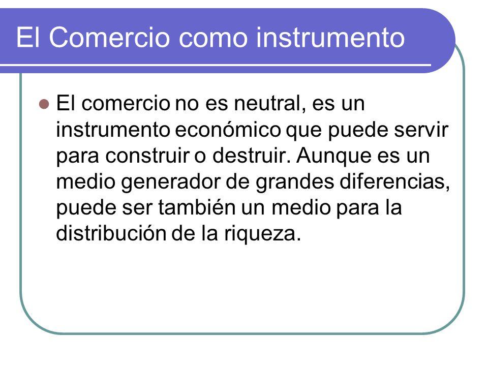 El Comercio como instrumento