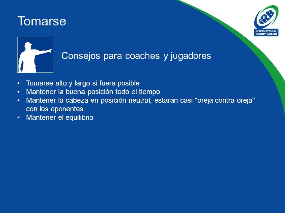Tomarse Consejos para coaches y jugadores