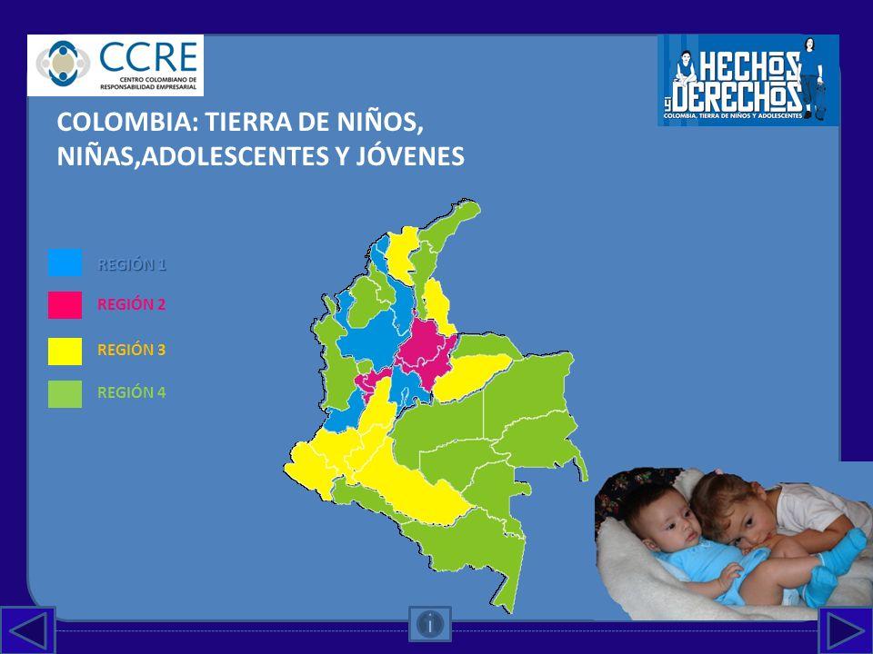 COLOMBIA: TIERRA DE NIÑOS, NIÑAS,ADOLESCENTES Y JÓVENES
