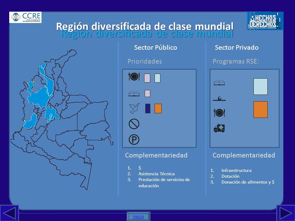          Región diversificada de clase mundial