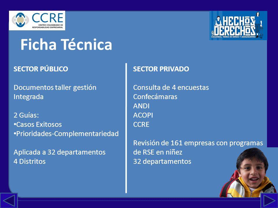 Ficha Técnica SECTOR PÚBLICO Documentos taller gestión Integrada