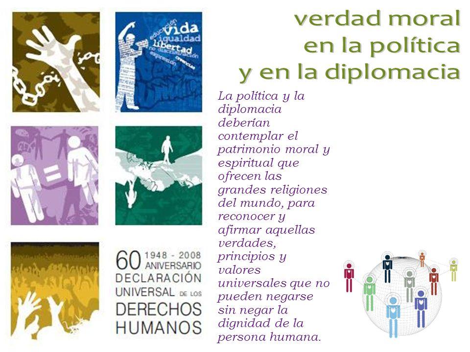 verdad moral en la política y en la diplomacia