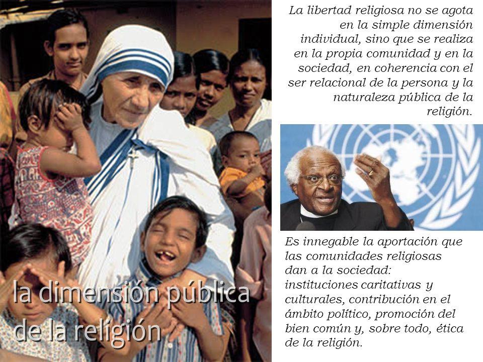 la dimensión pública de la religión la dimensión pública