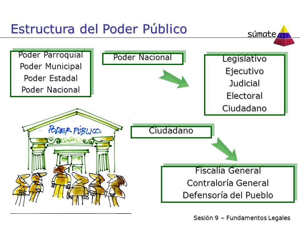 Estructura del Poder Público