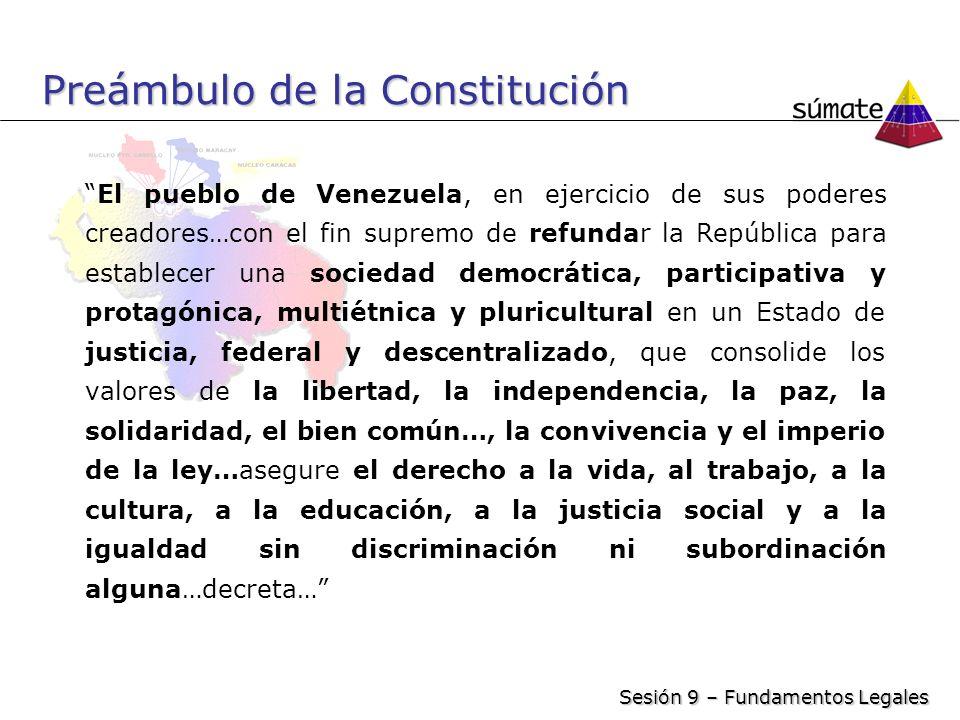 Preámbulo de la Constitución