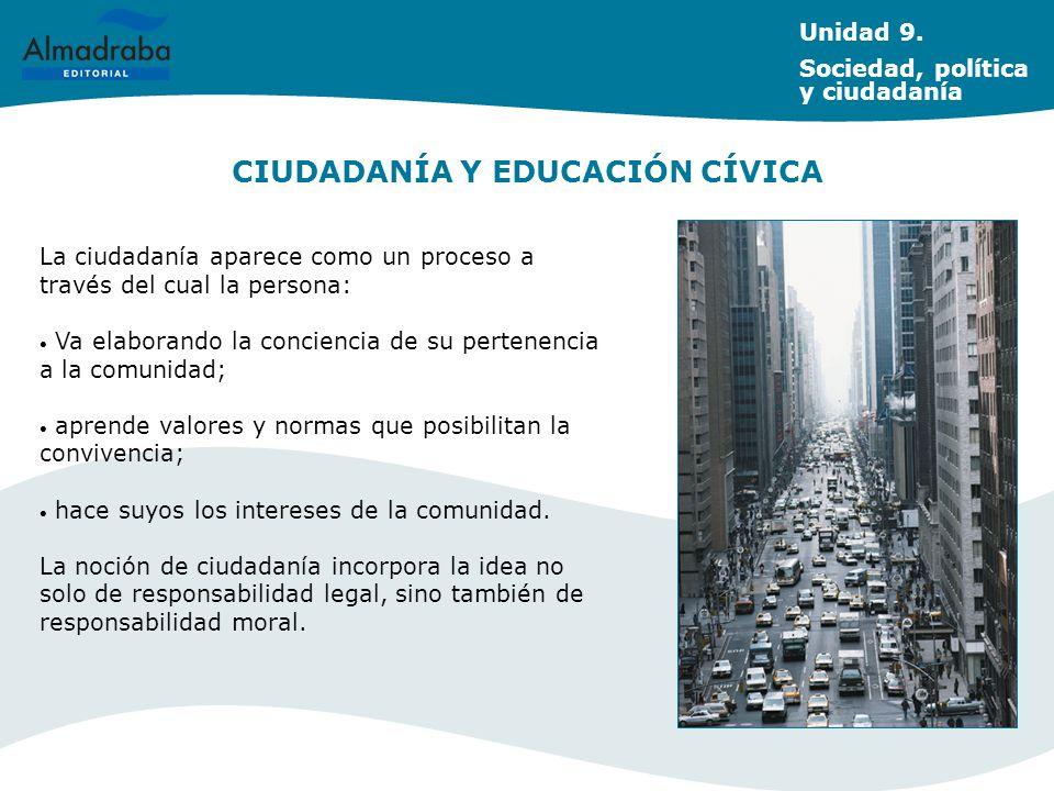 CIUDADANÍA Y EDUCACIÓN CÍVICA
