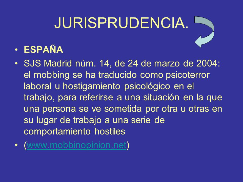 JURISPRUDENCIA. ESPAÑA