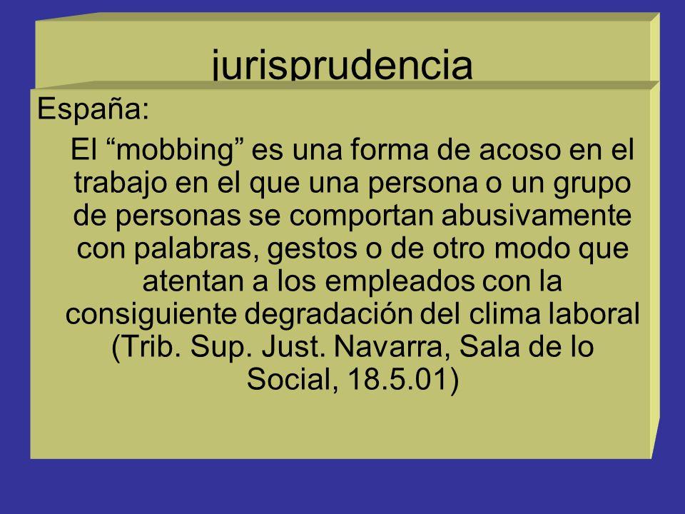 jurisprudencia España: