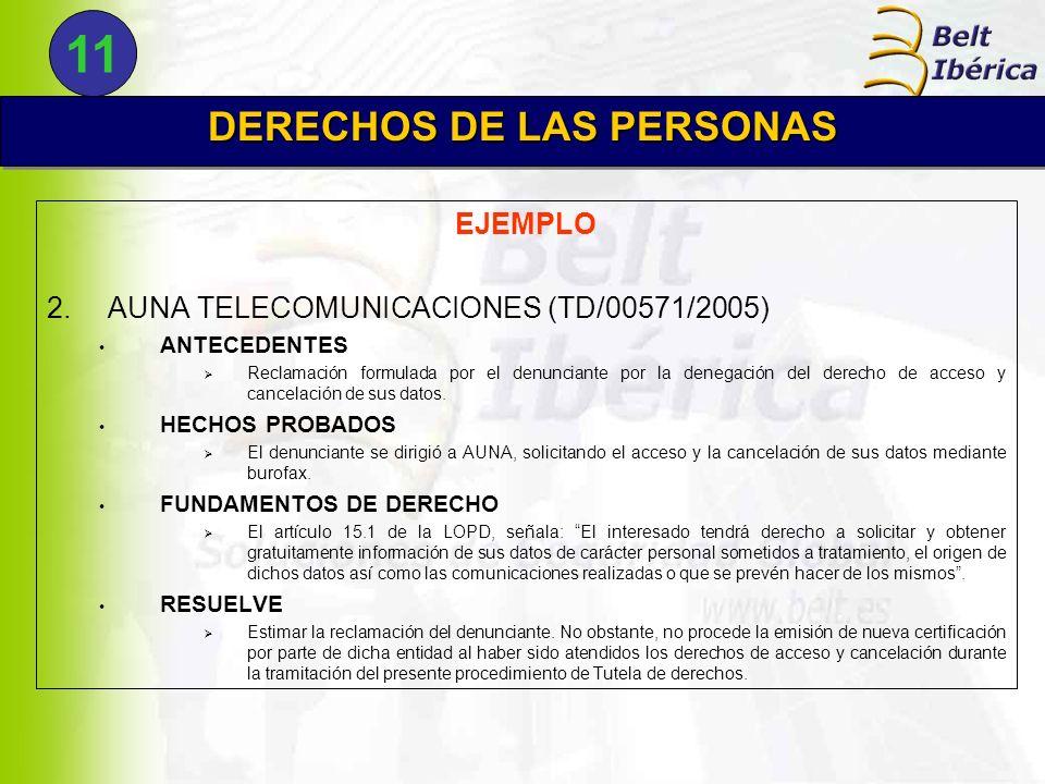 DERECHOS DE LAS PERSONAS