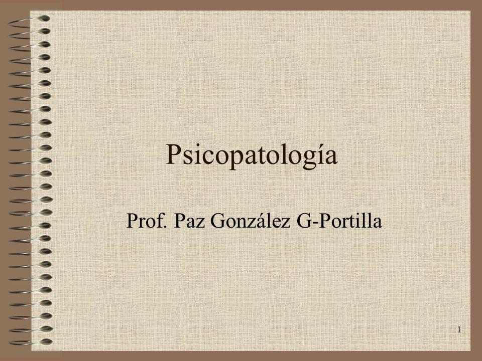 Prof. Paz González G-Portilla