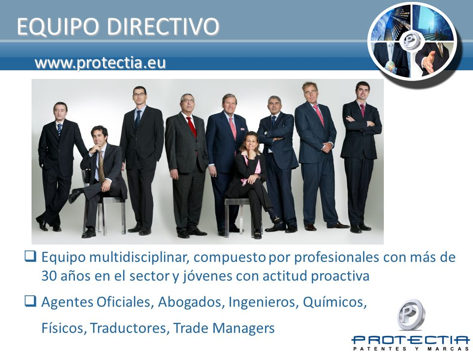 EQUIPO DIRECTIVO www.protectia.eu