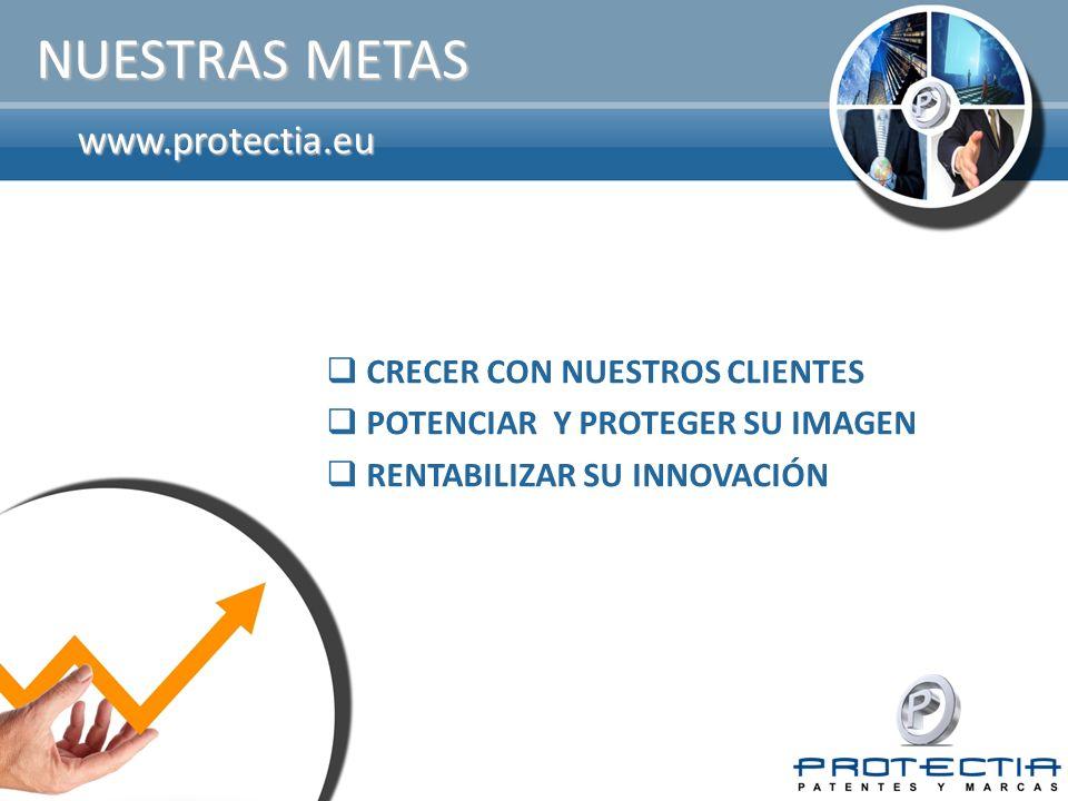 NUESTRAS METAS www.protectia.eu CRECER CON NUESTROS CLIENTES