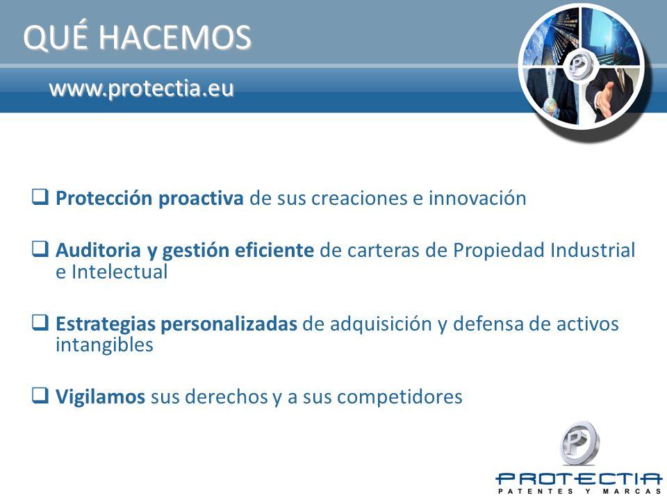 QUÉ HACEMOS www.protectia.eu