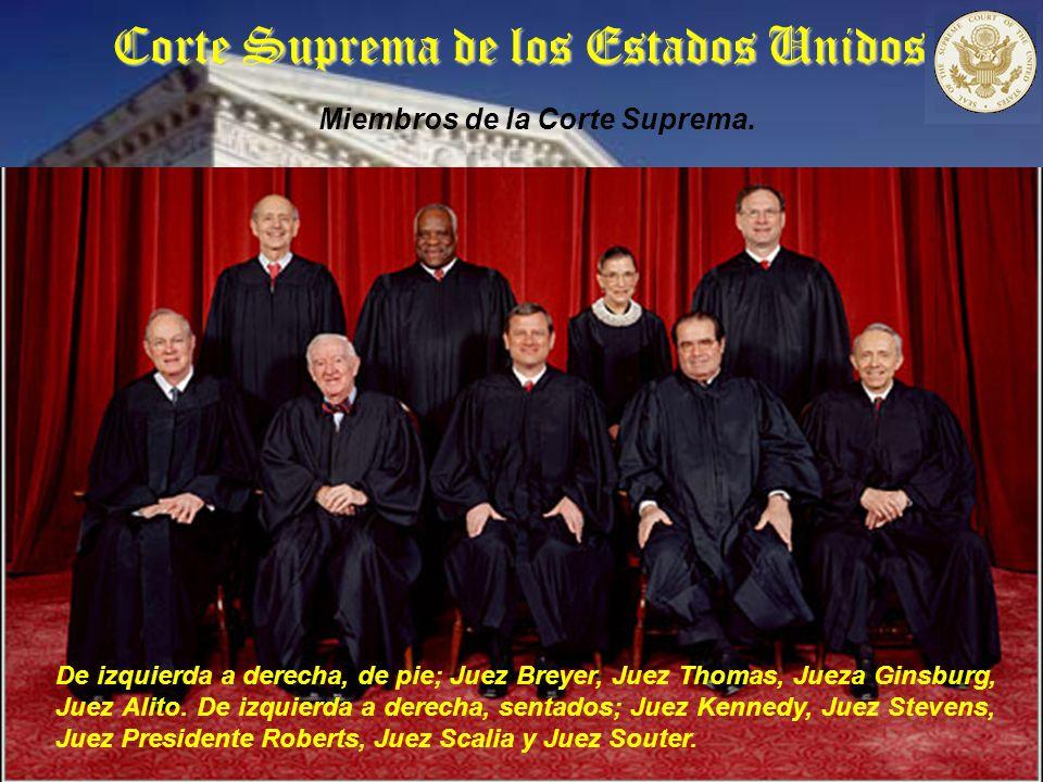 Corte Suprema de los Estados Unidos