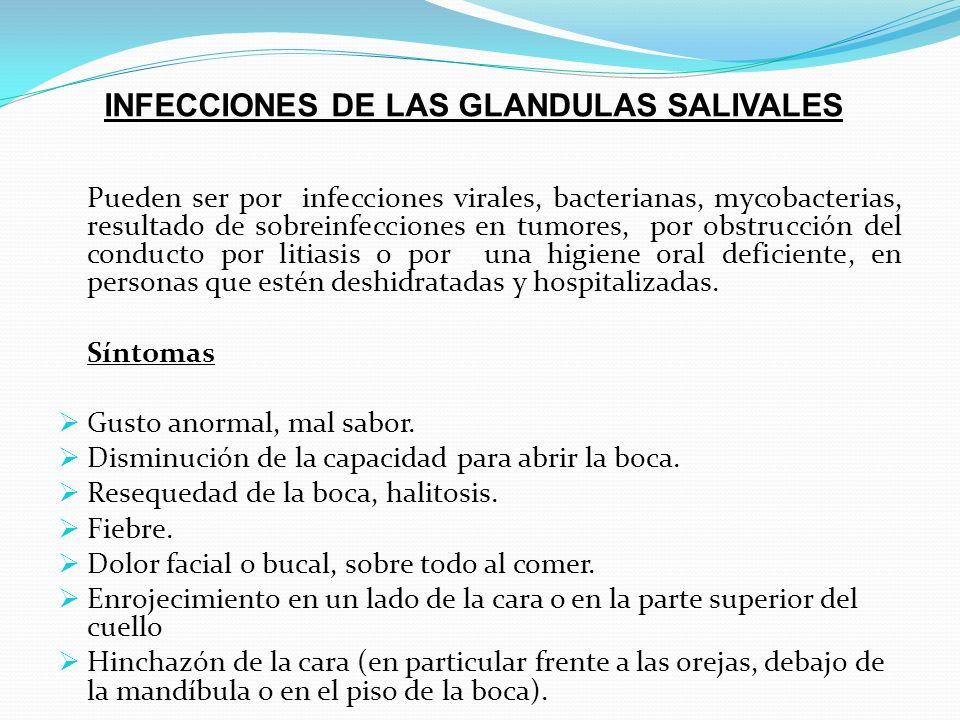 PATOLOGIA DE LAS GLANDULAS SALIVALES - ppt video online