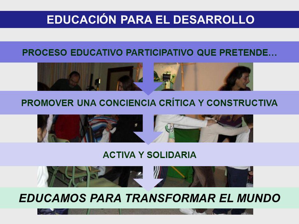 EDUCAMOS PARA TRANSFORMAR EL MUNDO