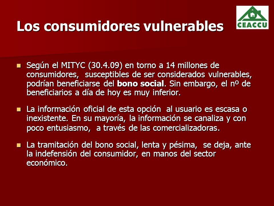 Los consumidores vulnerables