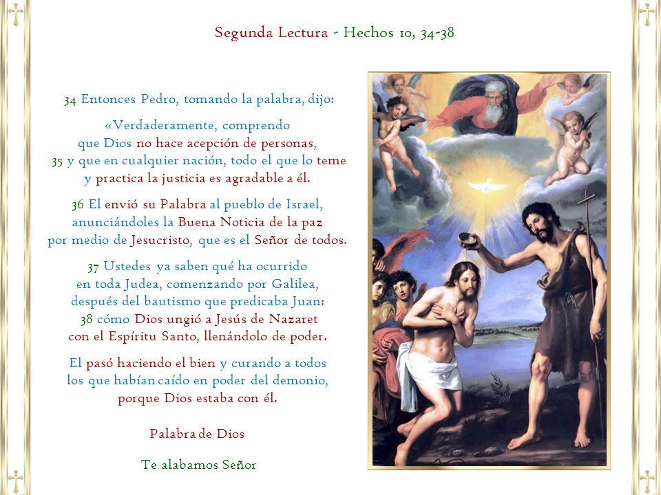 Segunda Lectura - Hechos 10, 34-38
