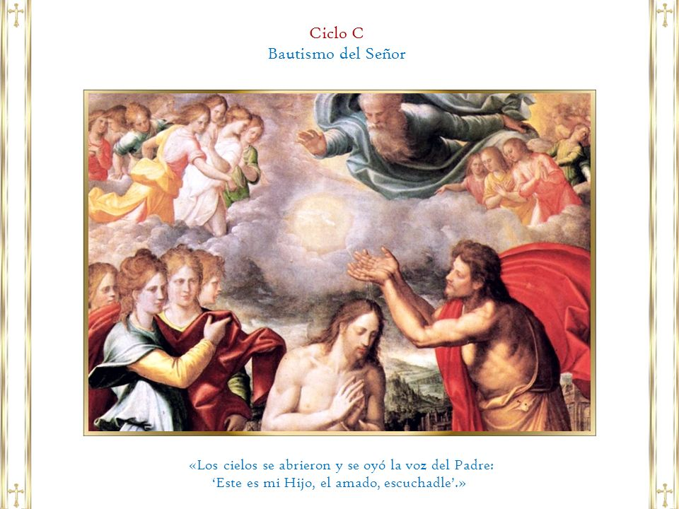 Ciclo C Bautismo del Señor