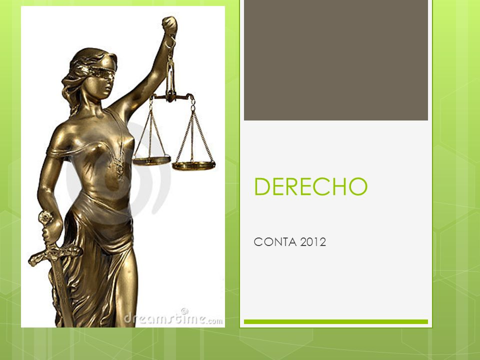 DERECHO CONTA 2012
