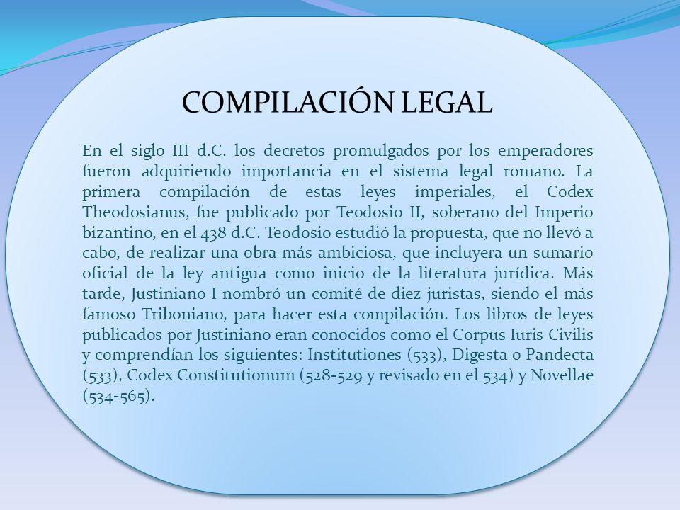 COMPILACIÓN LEGAL