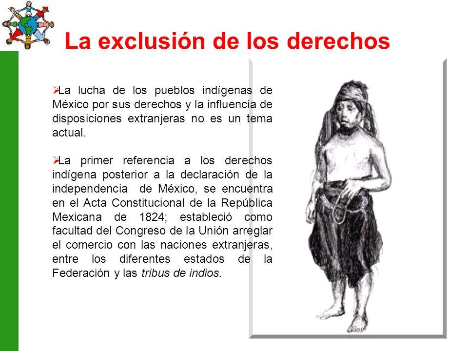 La exclusión de los derechos