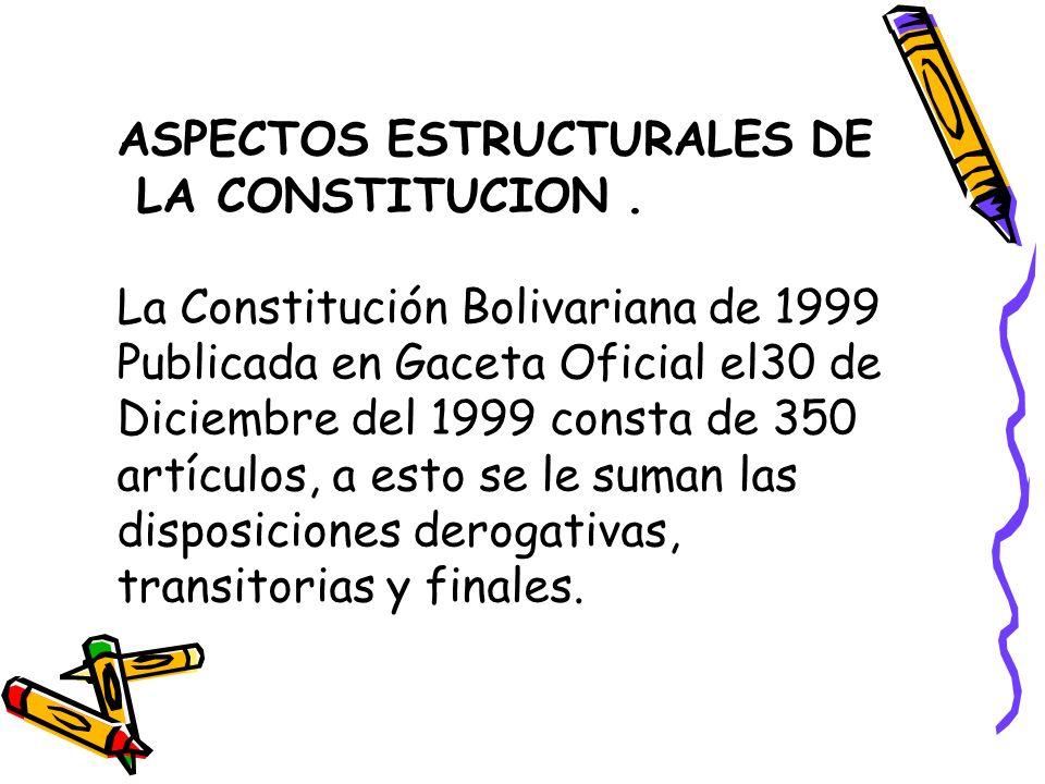 ASPECTOS ESTRUCTURALES DE