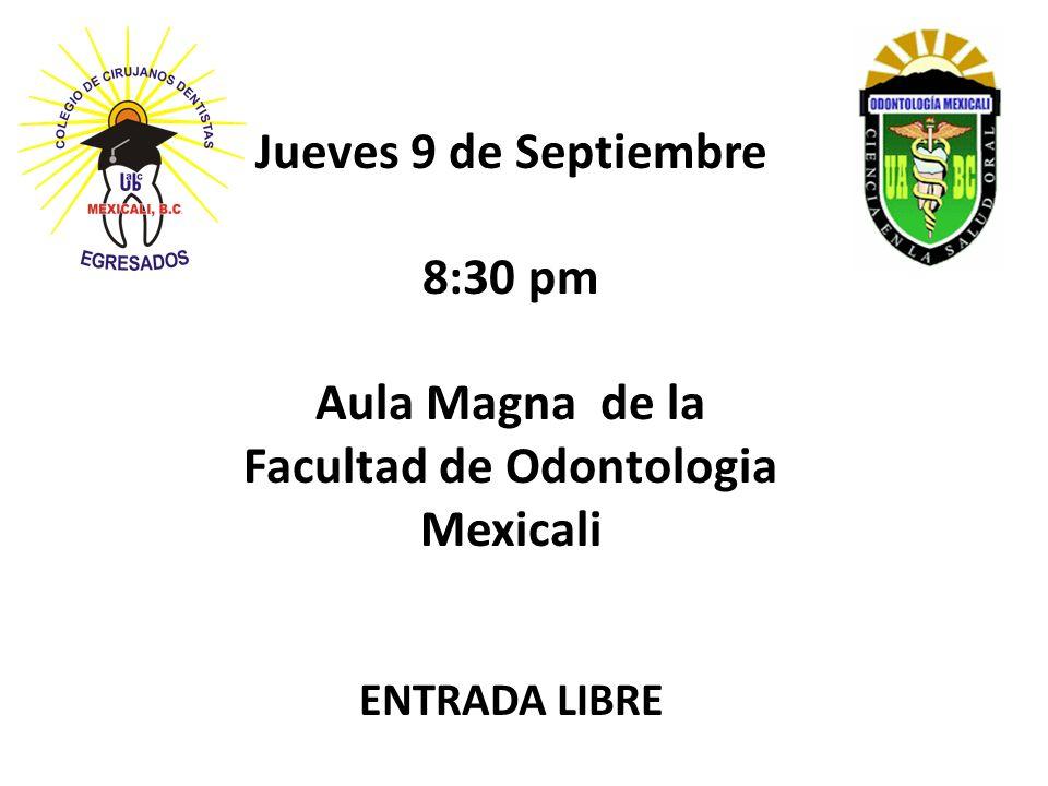 Facultad de Odontologia Mexicali