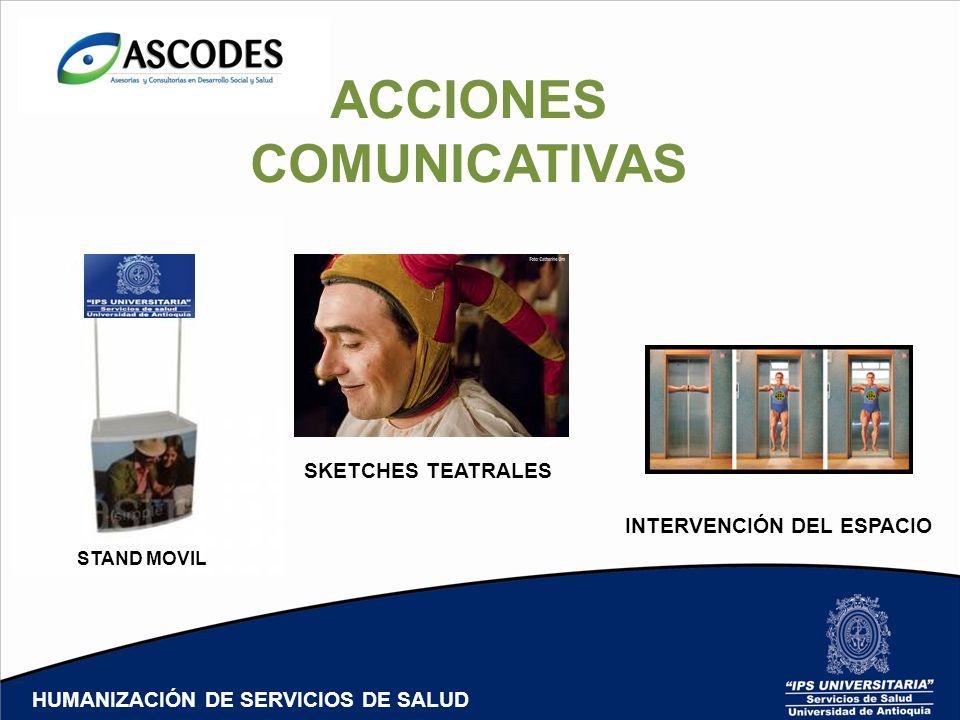 ACCIONES COMUNICATIVAS