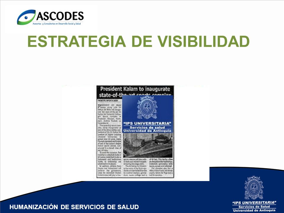 ESTRATEGIA DE VISIBILIDAD