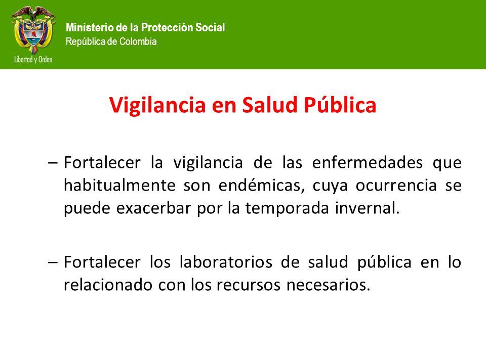 Vigilancia en Salud Pública