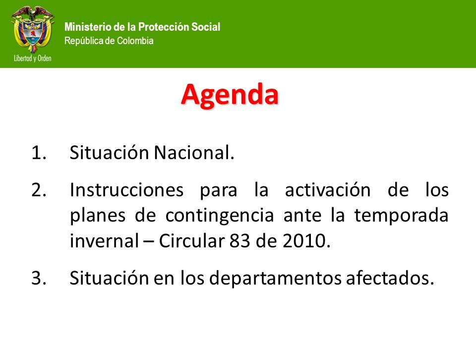 Agenda Situación Nacional.