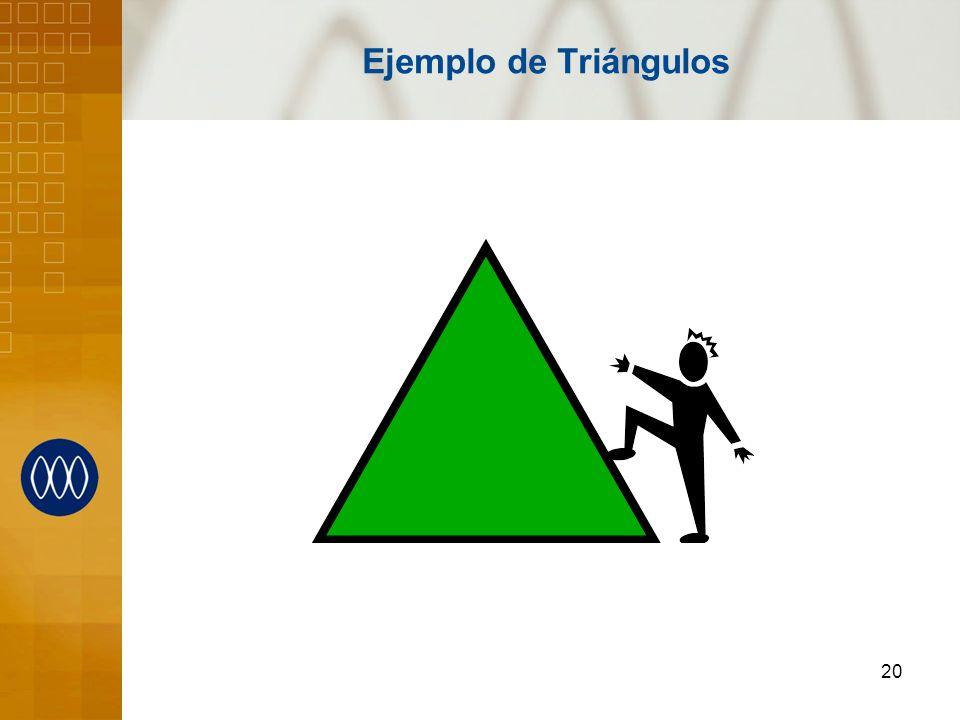Ejemplo de Triángulos