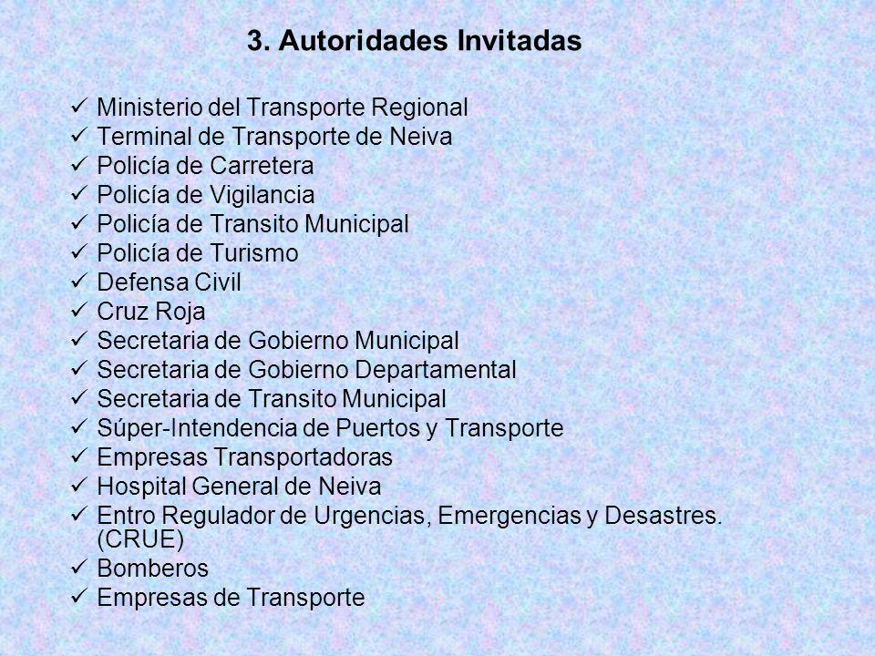 3. Autoridades Invitadas
