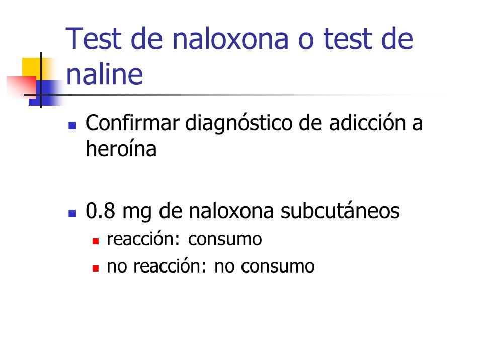 Test de naloxona o test de naline