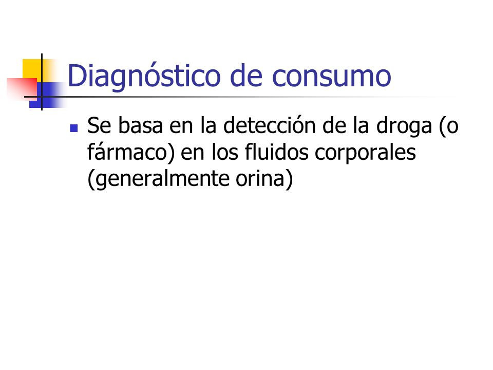Diagnóstico de consumo