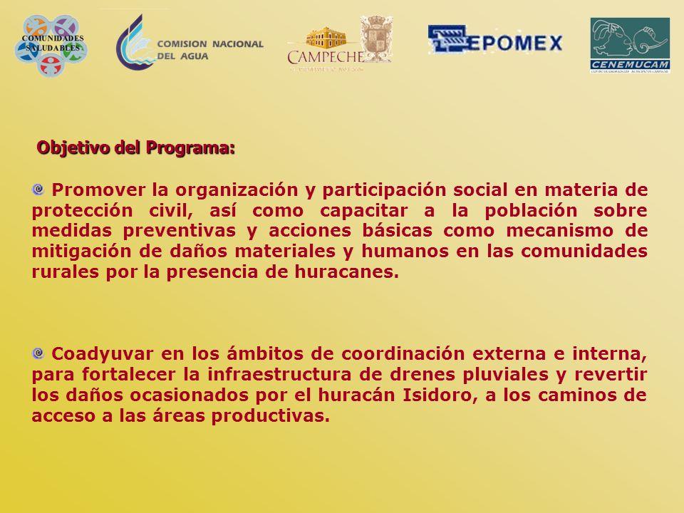 Objetivo del Programa:
