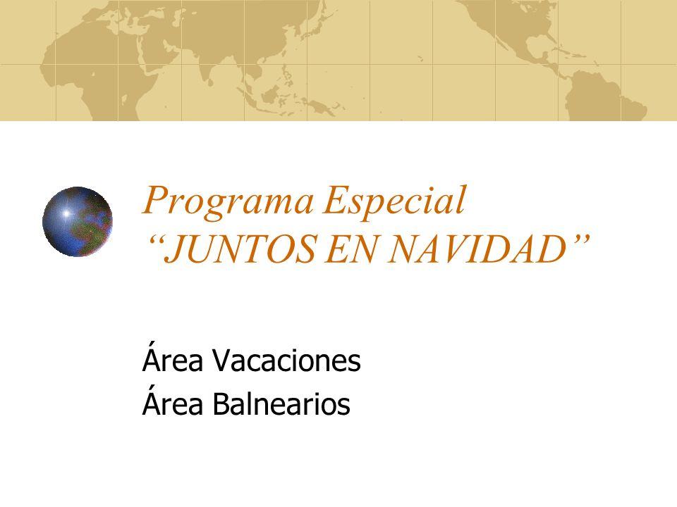 Programa Especial JUNTOS EN NAVIDAD