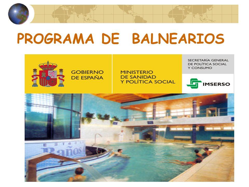PROGRAMA DE BALNEARIOS
