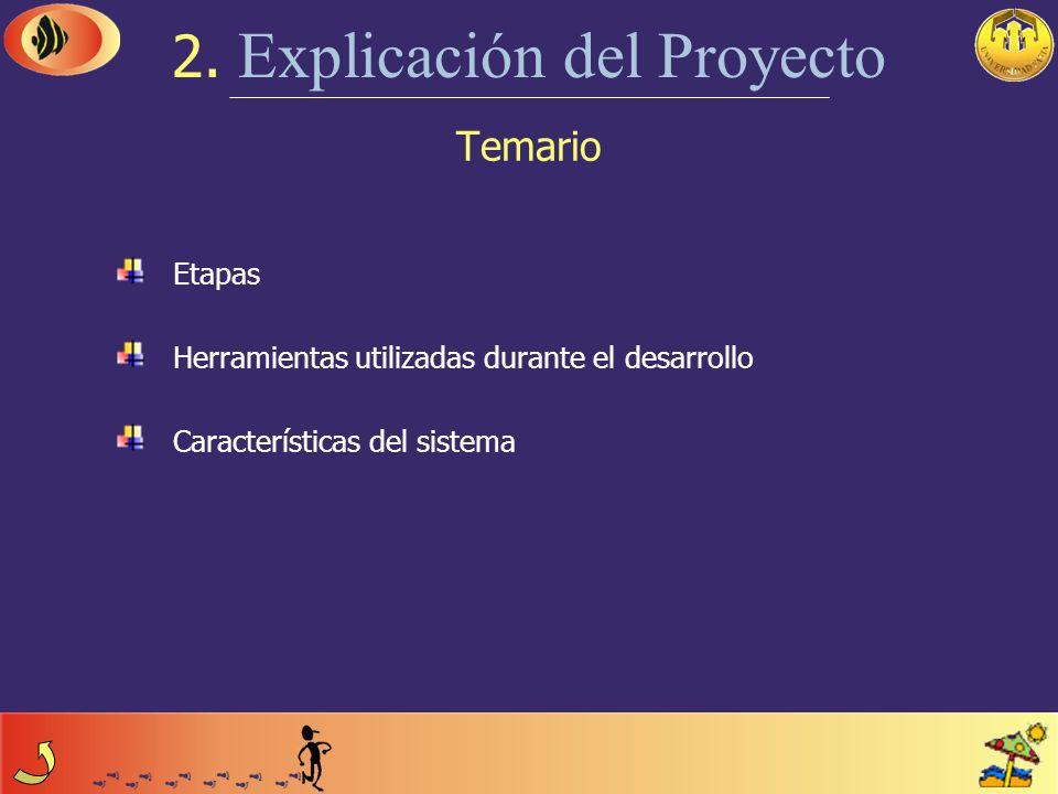 2. Explicación del Proyecto