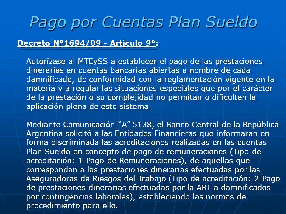 Pago por Cuentas Plan Sueldo