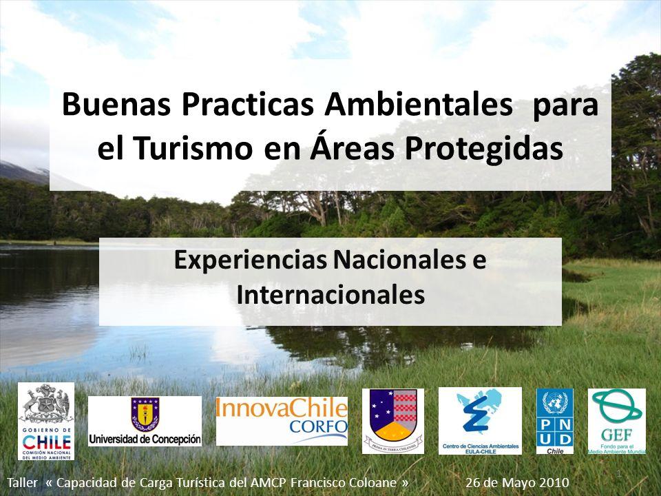 Buenas Practicas Ambientales para el Turismo en Áreas Protegidas
