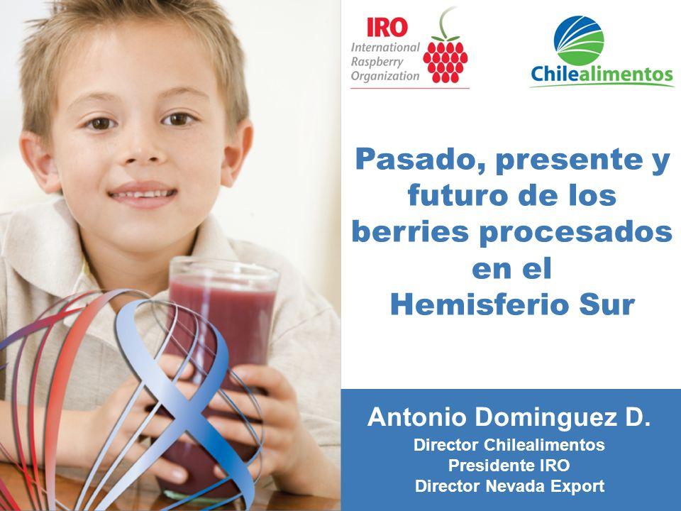 Pasado, presente y futuro de los berries procesados en el