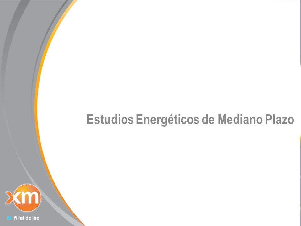 Estudios Energéticos de Mediano Plazo