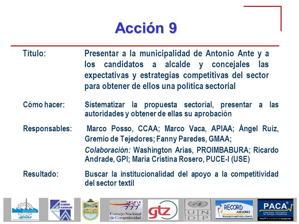 Acción 9