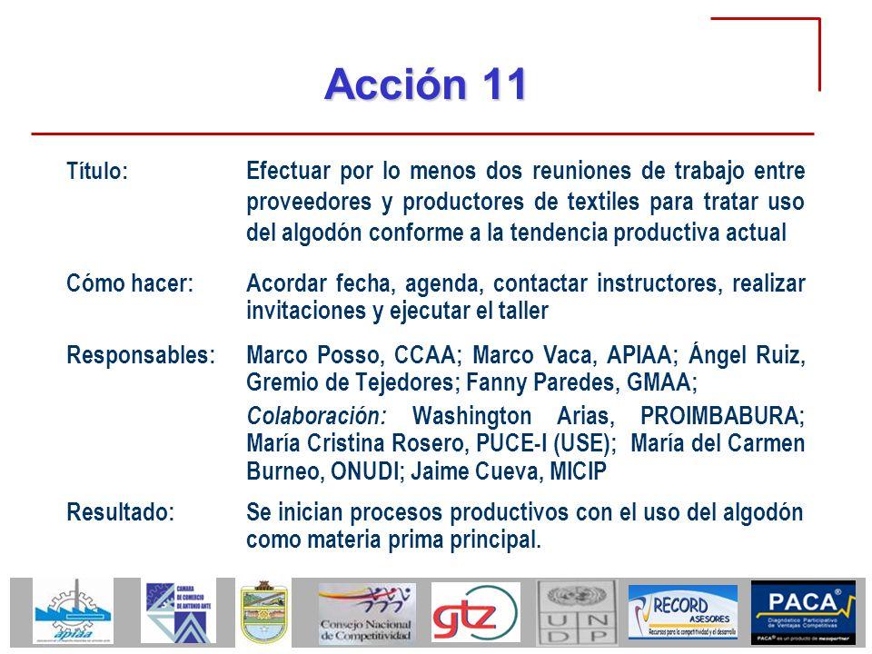 Acción 11