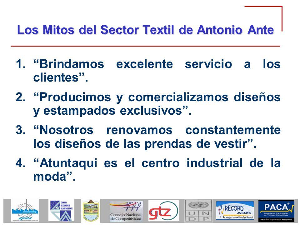 Los Mitos del Sector Textil de Antonio Ante