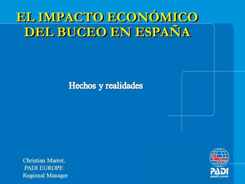 EL IMPACTO ECONÓMICO DEL BUCEO EN ESPAÑA