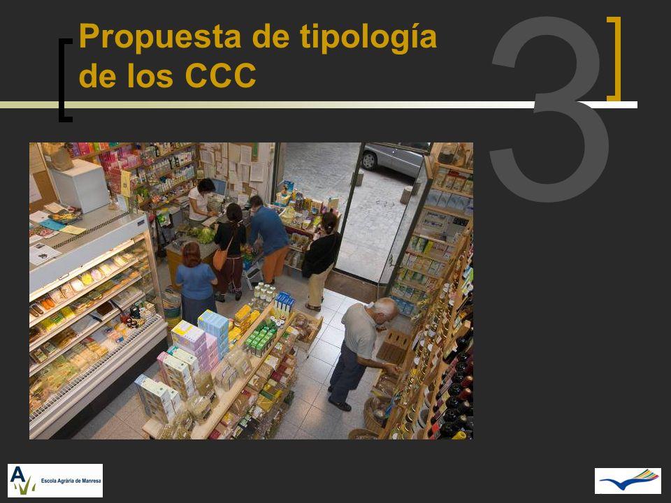 3 Propuesta de tipología de los CCC